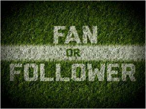 Follower Not Fans